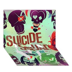 Panic! At The Disco Suicide Squad The Album Love Bottom 3d Greeting Card (7x5) by Onesevenart