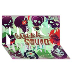 Panic! At The Disco Suicide Squad The Album Best Wish 3d Greeting Card (8x4) by Onesevenart