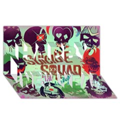 Panic! At The Disco Suicide Squad The Album Happy New Year 3d Greeting Card (8x4) by Onesevenart
