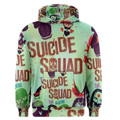 Panic! At The Disco Suicide Squad The Album Men s Pullover Hoodie by Onesevenart
