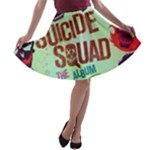 Panic! At The Disco Suicide Squad The Album A-line Skater Skirt