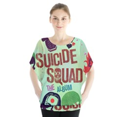 Panic! At The Disco Suicide Squad The Album Blouse by Onesevenart