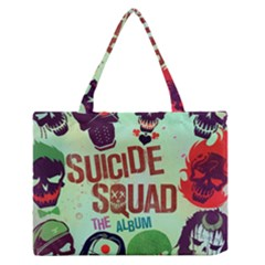 Panic! At The Disco Suicide Squad The Album Medium Zipper Tote Bag by Onesevenart