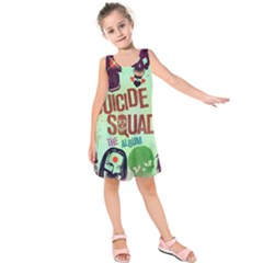 Panic! At The Disco Suicide Squad The Album Kids  Sleeveless Dress by Onesevenart