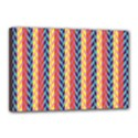 Colorful Chevron Retro Pattern Canvas 18  x 12  View1