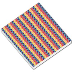 Colorful Chevron Retro Pattern Small Memo Pads by DanaeStudio