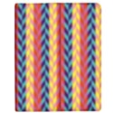 Colorful Chevron Retro Pattern Apple iPad 3/4 Flip Case View1