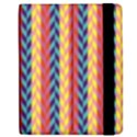 Colorful Chevron Retro Pattern Apple iPad 3/4 Flip Case View2