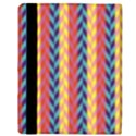 Colorful Chevron Retro Pattern Apple iPad 3/4 Flip Case View3