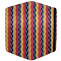 Colorful Chevron Retro Pattern Apple iPad 3/4 Flip Case View4