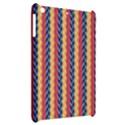 Colorful Chevron Retro Pattern Apple iPad Mini Hardshell Case View2