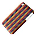 Colorful Chevron Retro Pattern Apple iPhone 3G/3GS Hardshell Case (PC+Silicone) View4