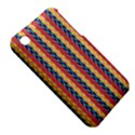 Colorful Chevron Retro Pattern Apple iPhone 3G/3GS Hardshell Case (PC+Silicone) View5