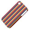Colorful Chevron Retro Pattern Apple iPhone 4/4S Hardshell Case (PC+Silicone) View4