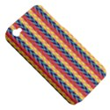Colorful Chevron Retro Pattern Apple iPhone 4/4S Hardshell Case (PC+Silicone) View5