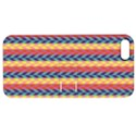 Colorful Chevron Retro Pattern Apple iPhone 5 Hardshell Case with Stand View1