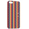 Colorful Chevron Retro Pattern Apple iPhone 5 Hardshell Case with Stand View2