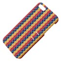 Colorful Chevron Retro Pattern Apple iPhone 5 Hardshell Case with Stand View4