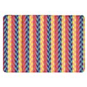 Colorful Chevron Retro Pattern Samsung Galaxy Tab 8.9  P7300 Flip Case View1