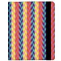 Colorful Chevron Retro Pattern Samsung Galaxy Tab 8.9  P7300 Flip Case View2