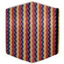 Colorful Chevron Retro Pattern Samsung Galaxy Tab 8.9  P7300 Flip Case View4