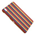 Colorful Chevron Retro Pattern Samsung Galaxy Tab Pro 8.4 Hardshell Case View4