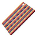 Colorful Chevron Retro Pattern Samsung Galaxy Tab Pro 8.4 Hardshell Case View5