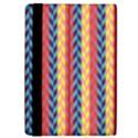 Colorful Chevron Retro Pattern iPad Mini 2 Flip Cases View4