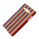 Colorful Chevron Retro Pattern Samsung Galaxy A5 Hardshell Case  View4