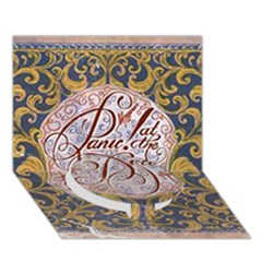 Panic! At The Disco Circle Bottom 3d Greeting Card (7x5) by Onesevenart