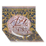 Panic! At The Disco Circle Bottom 3D Greeting Card (7x5)