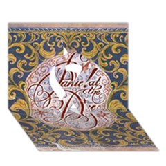 Panic! At The Disco Ribbon 3d Greeting Card (7x5) by Onesevenart