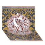 Panic! At The Disco Ribbon 3D Greeting Card (7x5)