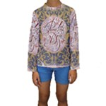 Panic! At The Disco Kids  Long Sleeve Swimwear