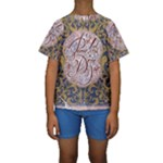 Panic! At The Disco Kids  Short Sleeve Swimwear