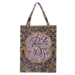 Panic! At The Disco Classic Tote Bag by Onesevenart