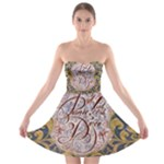 Panic! At The Disco Strapless Bra Top Dress