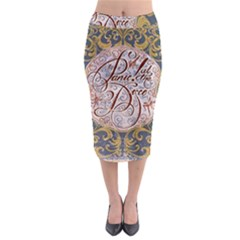 Panic! At The Disco Midi Pencil Skirt by Onesevenart