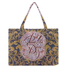 Panic! At The Disco Medium Zipper Tote Bag by Onesevenart