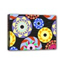 Colorful Retro Circular Pattern Mini Canvas 7  x 5  View1