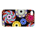 Colorful Retro Circular Pattern Apple iPhone 4/4S Premium Hardshell Case View1
