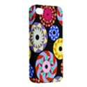 Colorful Retro Circular Pattern Apple iPhone 4/4S Premium Hardshell Case View2