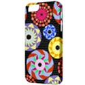 Colorful Retro Circular Pattern Apple iPhone 5 Classic Hardshell Case View3