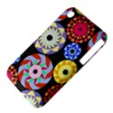 Colorful Retro Circular Pattern Apple iPhone 3G/3GS Hardshell Case (PC+Silicone) View4