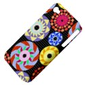 Colorful Retro Circular Pattern Apple iPhone 4/4S Hardshell Case (PC+Silicone) View4