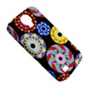 Colorful Retro Circular Pattern Samsung Galaxy S4 Classic Hardshell Case (PC+Silicone) View5