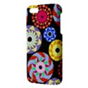 Colorful Retro Circular Pattern iPhone 5S/ SE Premium Hardshell Case View3