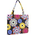 Colorful Retro Circular Pattern Mini Tote Bag View2