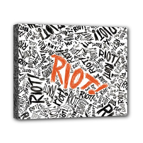 Paramore Is An American Rock Band Canvas 10  X 8  by Onesevenart