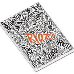 Paramore Is An American Rock Band Large Memo Pads by Onesevenart